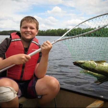 Jr. High Boys Canoe/Fish Trip
