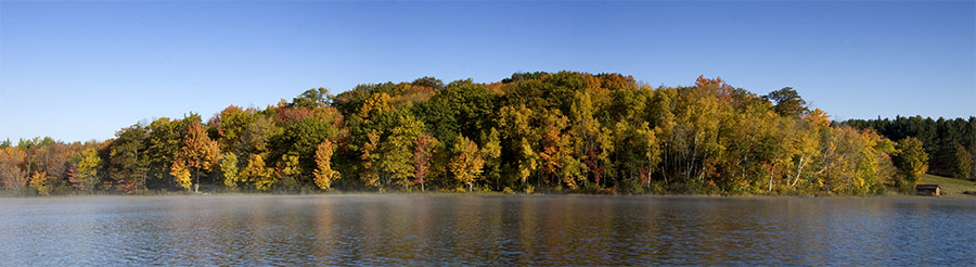James Lake in Autumn