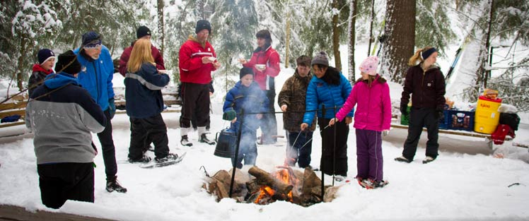 Winter Family Camp Cookout