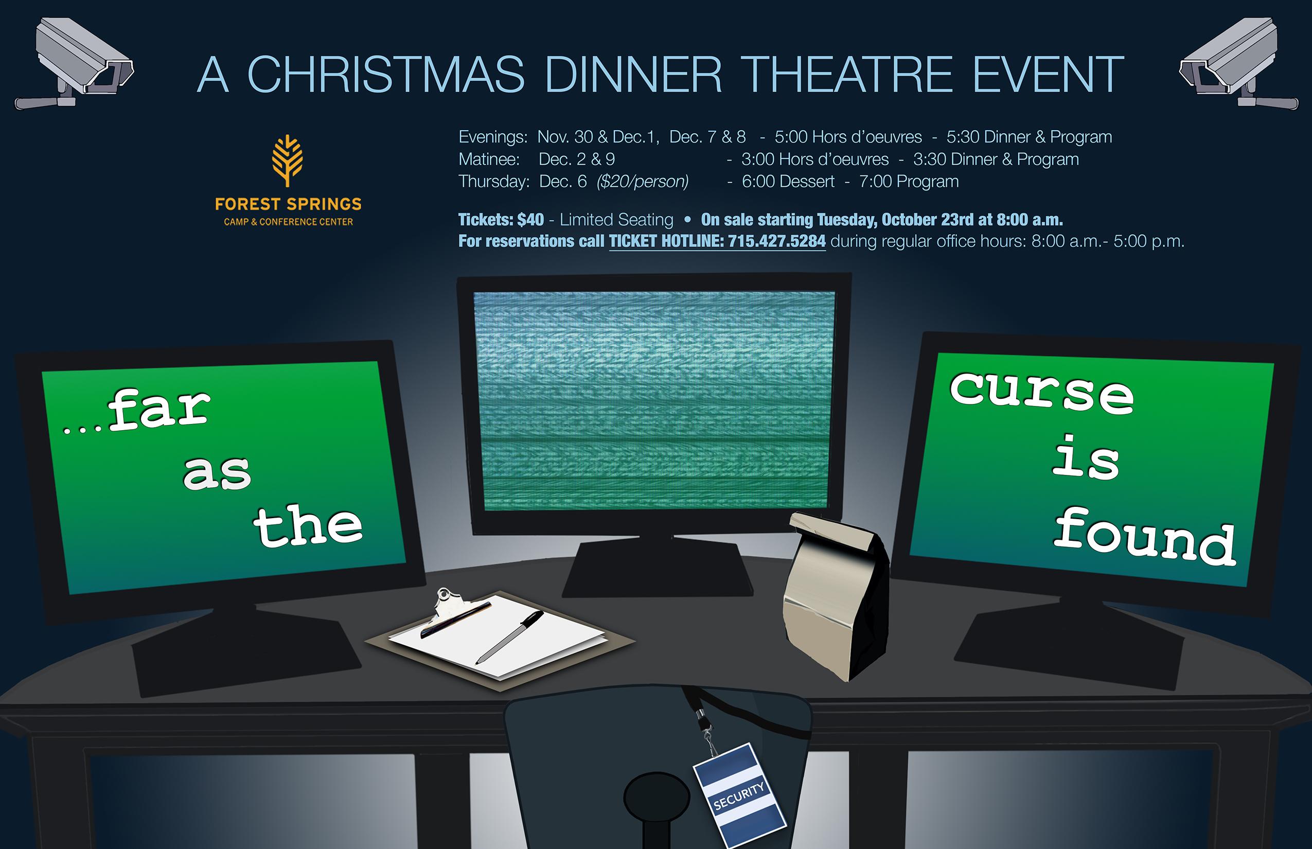 Christmas Dinner Theatre 2018 - \
